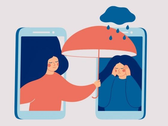 Virtual mental health platform